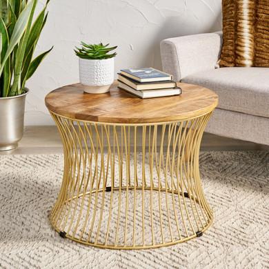 Handcrafted Boho Coffee Table