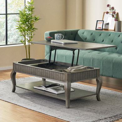 Traditional Lift-Top Coffee Table