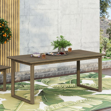 Outdoor Acacia Wood Dining Table