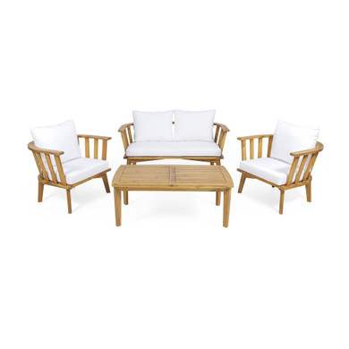 Outdoor Wooden Chat Set