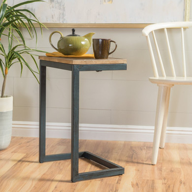 Industrial Accent Side Table