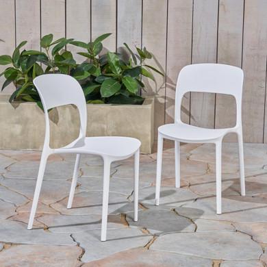 Outdoor Plastic Chair Set