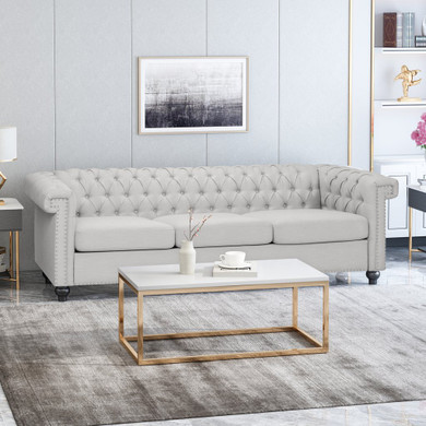 Tufted Chesterfield 3 Seater Sofa
