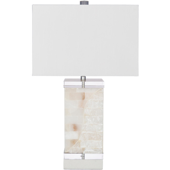 Baylor Natural Finish Mother of Pearl Body Table Lamp