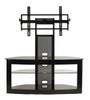 """TV Stand with Mount for 35""""-65"""" Flat Panel TV Black"""
