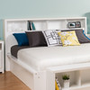 Calla King Headboard, White