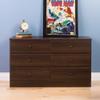Astrid 6-Drawer Dresser, Espresso