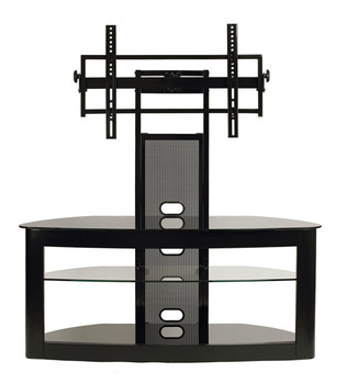 "TV Stand with Mount for 35""-65"" Flat Panel TV Black"
