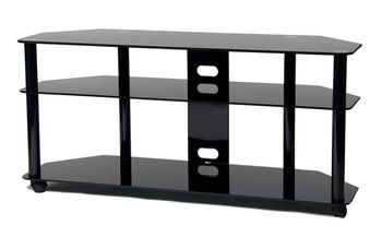 "TV stand with caster for up to 60"" TV TD255B"