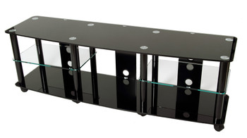 """TV stand with caster for 35""""-70"""" Plasma, LED/LCD TV TD208B"""