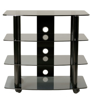 "High Boy TV stand with caster for up to 35"" LED/LCD TV 4 AV Shelves"
