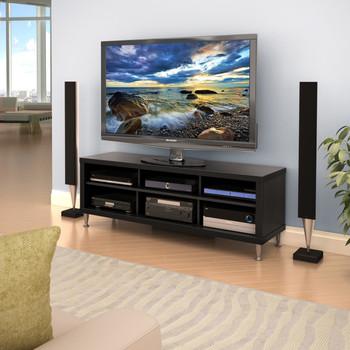 "Series 9 Designer 55"" TV Stand, Black"