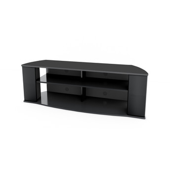 Prepac Essentials 60-inch TV Stand, Black