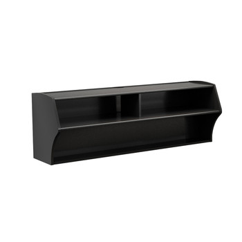 Altus Wall Mounted Audio/Video Console, Black