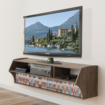 Altus Plus AV Console, Drifted Gray
