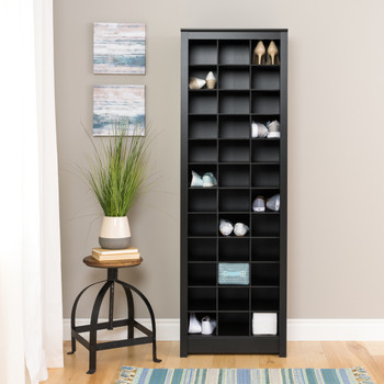 36 pair Shoe Storage Rack, Black