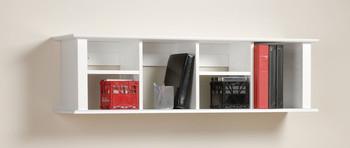 Wall Mounted Desk Hutch, White