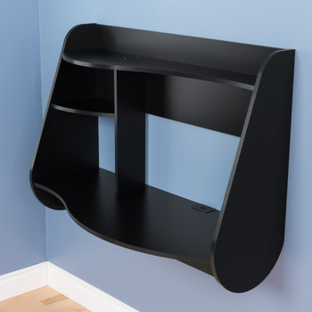 Kurv Floating Desk, Black