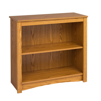 2-shelf Bookcase, Oak