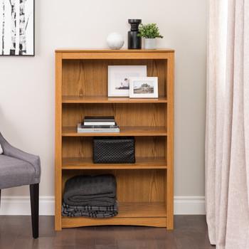 4-shelf Bookcase, Oak
