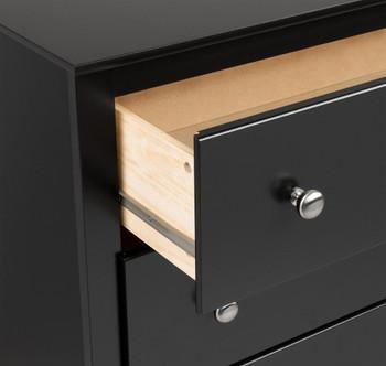 Sonoma Children's 6-Drawer Dresser, Black