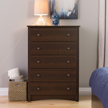 Fremont 5-Drawer Chest, Espresso