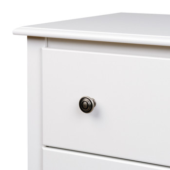 Monterey 5-Drawer Chest, White