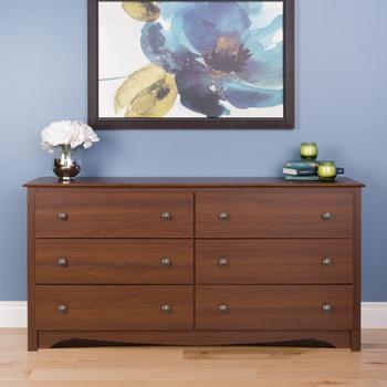 Monterey 6-Drawer Dresser, Cherry