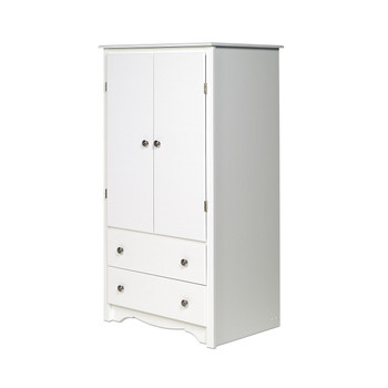 Monterey 2-Door Armoire, White
