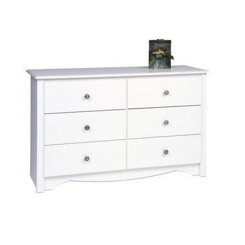 Monterey Children's 6-Drawer Dresser, White
