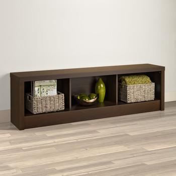 Series 9 Designer Storage Bench, Espresso
