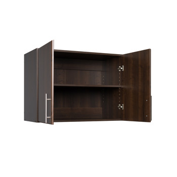 """Elite 32"""" Stackable Wall Cabinet, Espresso"""