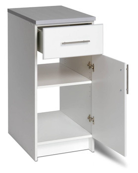 "Elite 16"" Base Cabinet, White"