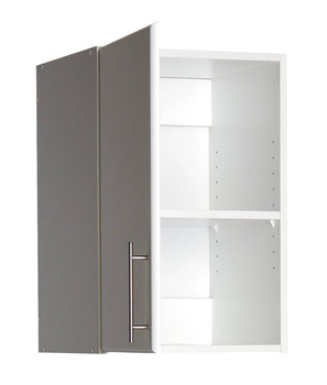 "Elite 16"" Stackable Wall Cabinet, White"