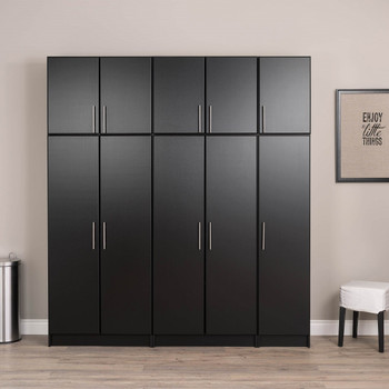 "Elite 16"" Narrow Cabinet, Black"