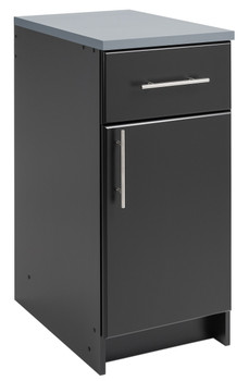 "Elite 16"" Base Cabinet, Black"