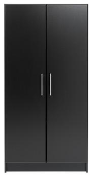 """Elite 32"""" Storage Cabinet, Black"""