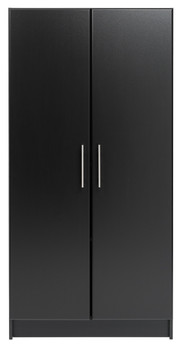 "Elite 32"" Storage Cabinet, Black"