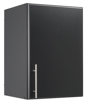 "Elite 16"" Stackable Wall Cabinet, Black"