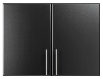 "Elite 32"" Stackable Wall Cabinet, Black"