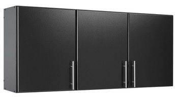 "Elite 54"" Wall Cabinet, Black"