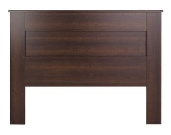 Queen Flat Panel Headboard, Espresso