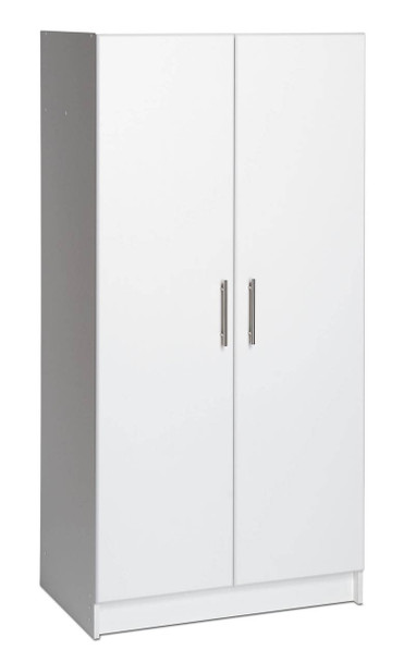 "Elite 32"" Storage Cabinet, White"