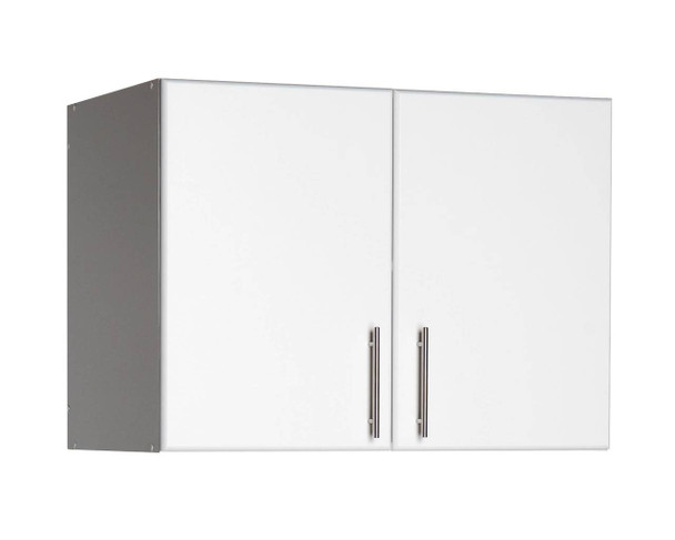 """Elite 32"""" Stackable Wall Cabinet, White"""