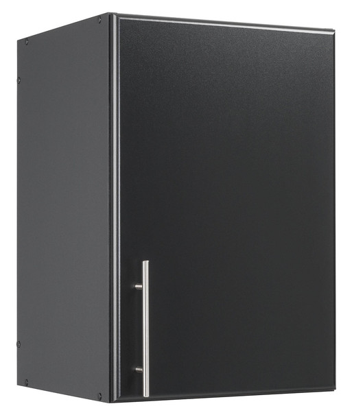 "Elite 16"" Stackable Wall Cabinet, Black"