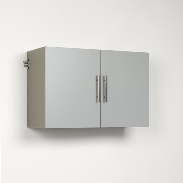 "HangUps 36"" Upper Storage Cabinet, Light Gray"