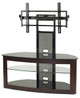 "TV Stand with Mounting System for 35""-65"" LED/LCD TV Espresso/Black"