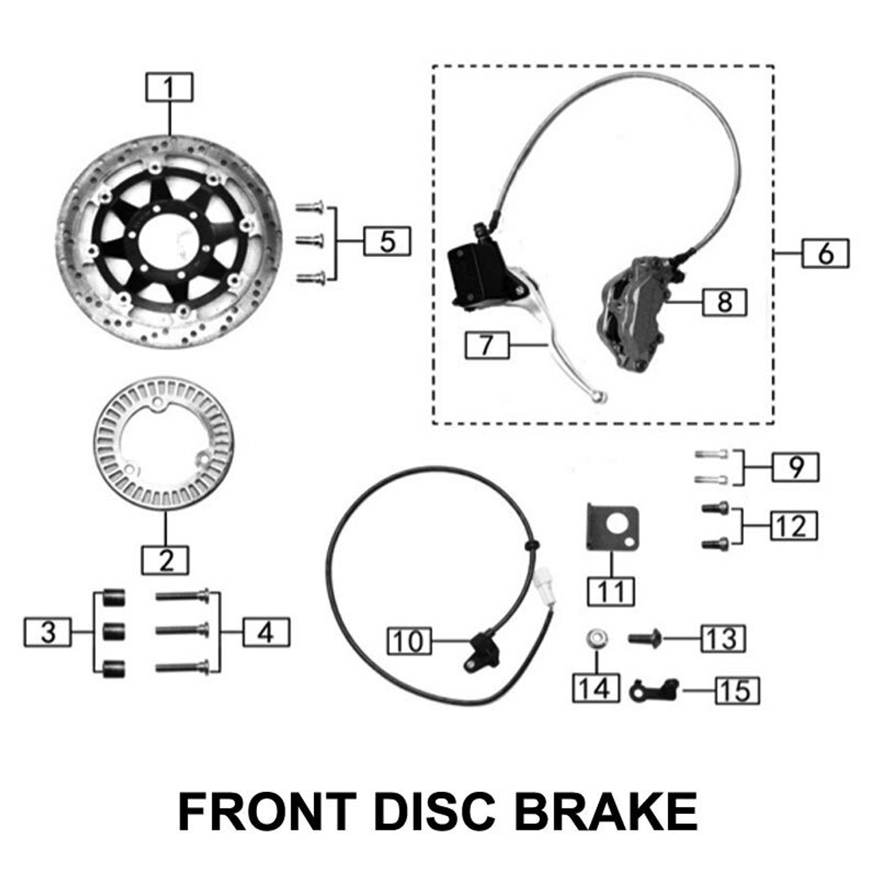 BRAKES, FRONT