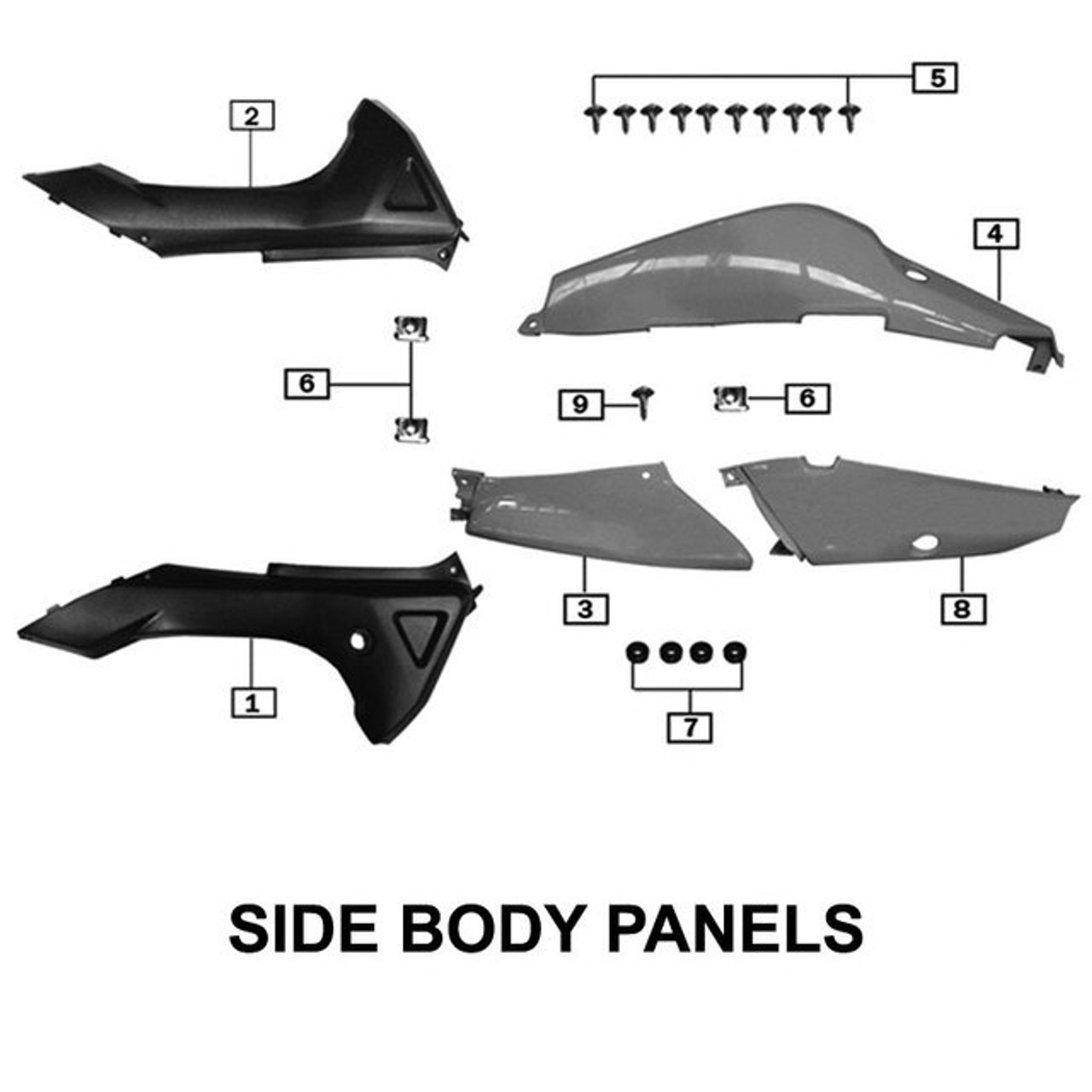 BODY PANELS, SIDE