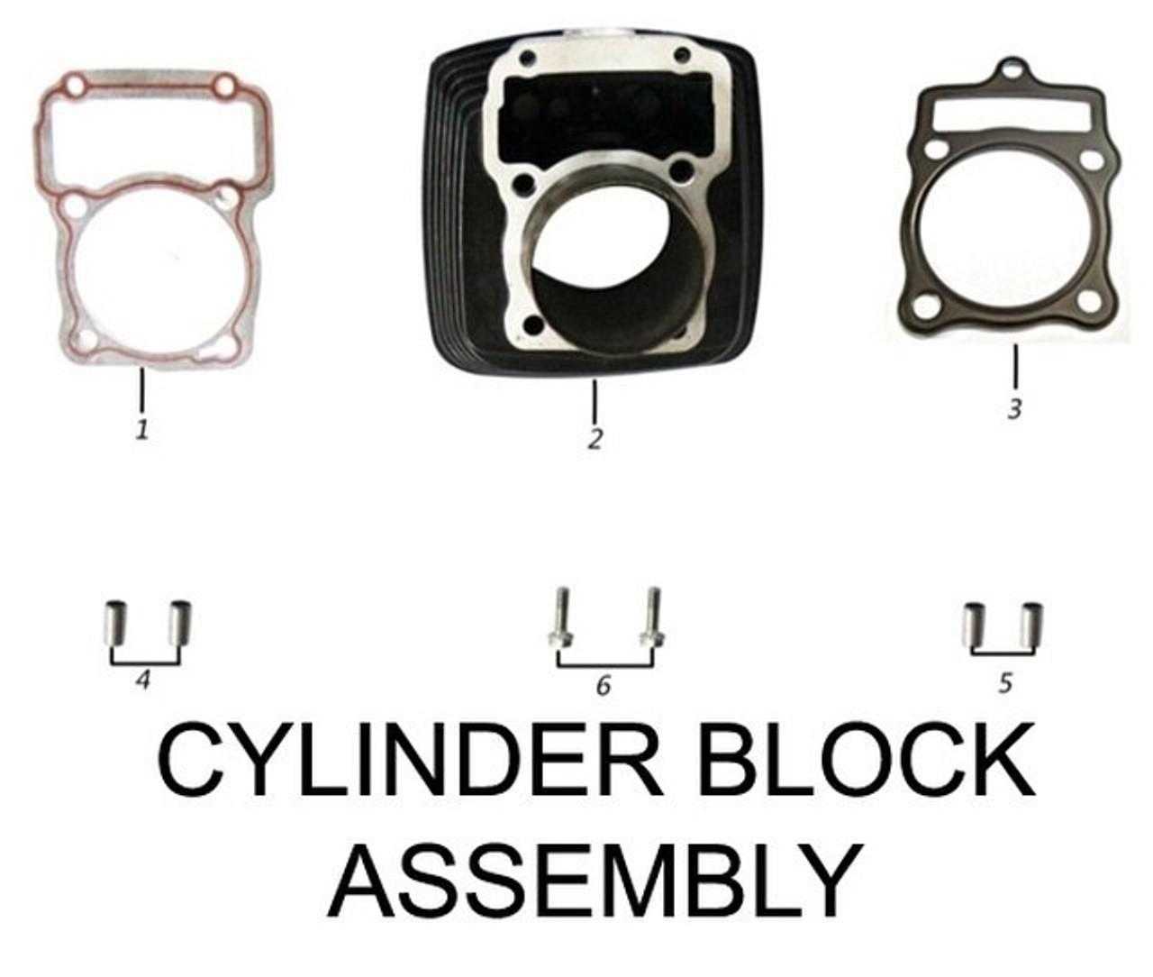 ENGINE CYLINDER BLOCK ASSEMBLY